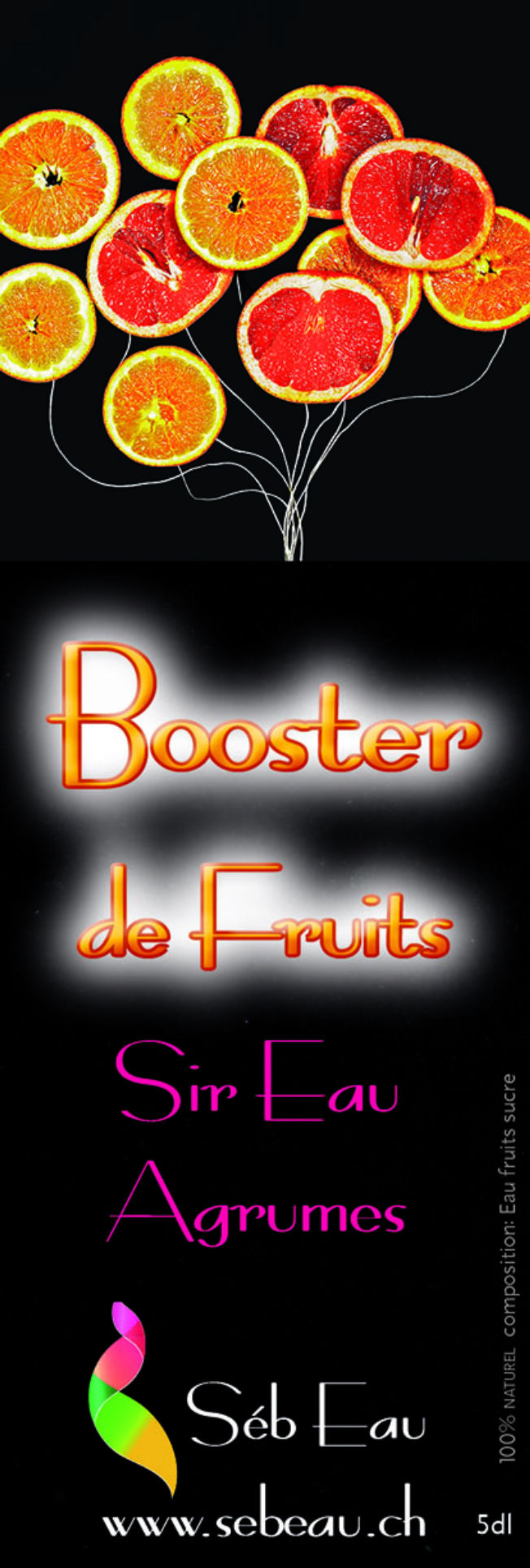 Sireau Booster d'agrumes
